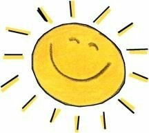 sol sonrriente