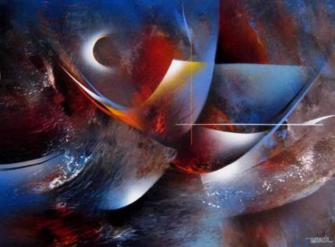 Obra de Leonardo Nierman
